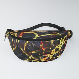 Flashy Colorful Boho Pattern Fanny Pack
