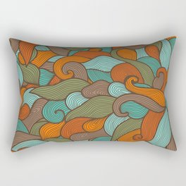 Storm pattern Rectangular Pillow