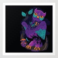 The nightmare Art Print