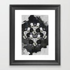 Flower Kaleidoscope Framed Art Print