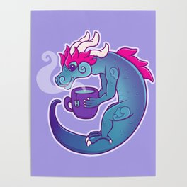 Beverage Dragon Poster