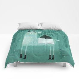 LLAMA & PLANT Comforters