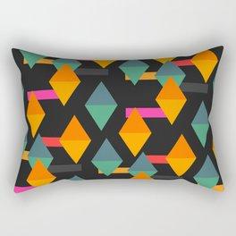 Falling shapes Rectangular Pillow
