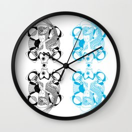 Fishy Lady Wall Clock