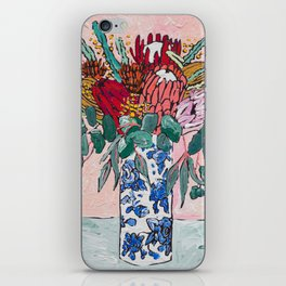 Australian Native Bouquet of Flowers after Matisse iPhone Skin