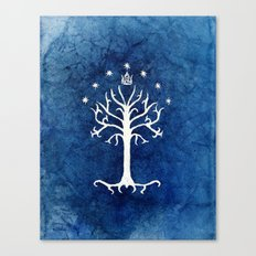The White Tree Canvas Print