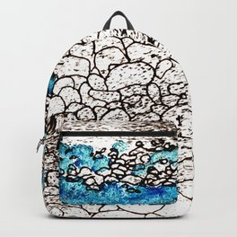 ...on the seashore Backpack