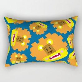 Cute Cartoon Lion Pattern Rectangular Pillow