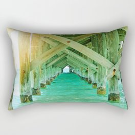 Sun Under the Bridge Rectangular Pillow
