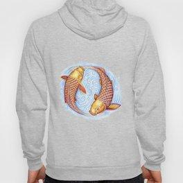 Pisces Fish Yin Yang Mandala Hoody