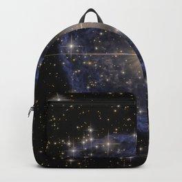 Blue Bubble Nebula Backpack