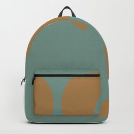 Topple With Green Minimal  Backpack