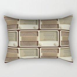 Vintage Sounds Rectangular Pillow