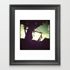 Swinging Framed Art Print