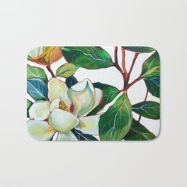 Magnolia Branch Bath Mat