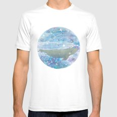 Illustration Friday: Round White Mens Fitted Tee MEDIUM