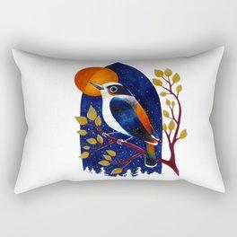 Window Bird Rectangular Pillow