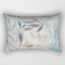 Painted Leaves 2 - color variation Rectangular Pillow