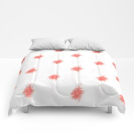 Doodle Pink Roses Comforters