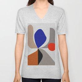 Abstract Art VIII Unisex V-Neck