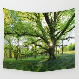 To Swing On The Tree Of Hope Wall Tapestry