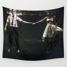 abyss of the disheartened : IX Wall Tapestry