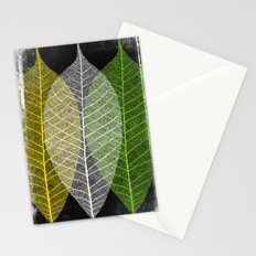'Natural Dry Leaves' Stationery Cards