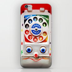 Retro Vintage smiley kids Toys Dial Phone iPhone 4 4s 5 5s 5c, ipod, ipad, pillow case and tshirt iPhone & iPod Skin
