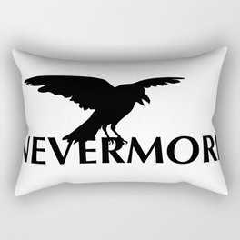 Nevermore - The Raven Rectangular Pillow