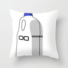 Wall Street Milk Throw Pillow