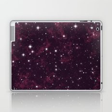 Burgundy Space Laptop & iPad Skin