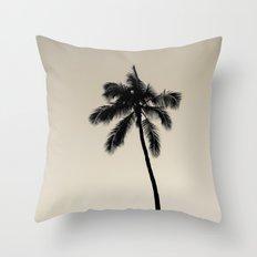 palm tree ver.coffee Throw Pillow