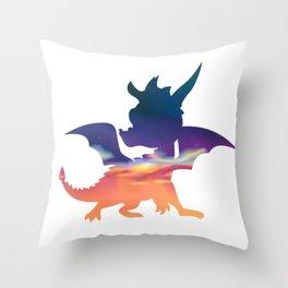Spyro Haunted Towers Skybox Throw Pillow