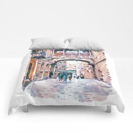 Carrer del Bisbe - Barcelona Comforters