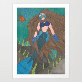 Laguna Art Print