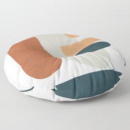 Minimal Shapes No.35 Floor Pillow