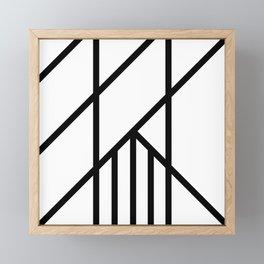 Bold Deco Framed Mini Art Print