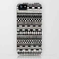 black//white Slim Case iPhone (5, 5s)