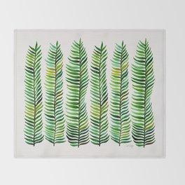 Seaweed Throw Blanket