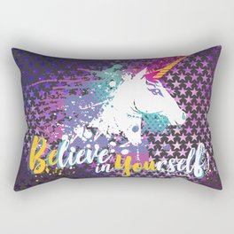 BElive in YOUrself Rectangular Pillow