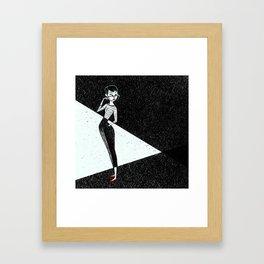 Gamine Framed Art Print