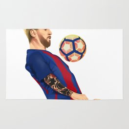 Messi Great Rug