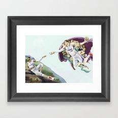 Chris Paul, Point God Framed Art Print