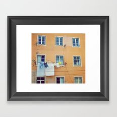 Windows of Alfama, Lisbon Framed Art Print