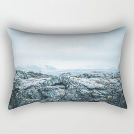 Winter in Iceland Rectangular Pillow