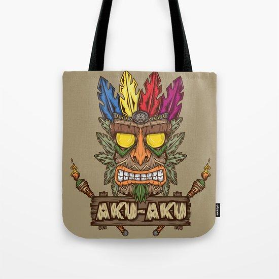 Aku-Aku (Crash Bandicoot) Tote Bag