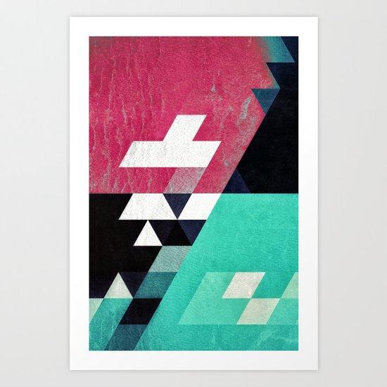 Aqyw^Xryss Art Print