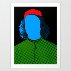 Pop Portrait Disaster 2 Art Print