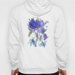 Bluest Blue Bloom Hoody