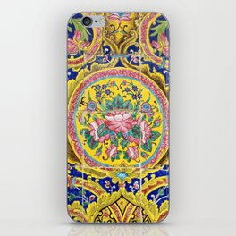 Floral Persian Tile iPhone Skin
